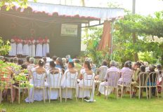 Senior Citizens Enjoy Their Christmas Program