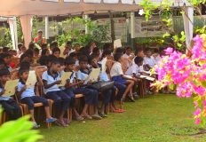 WORLD LITERACY DAY – HOSTING 320 CHILDREN