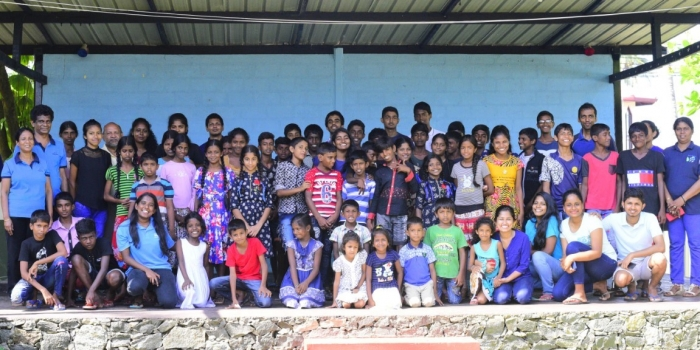 CORPORATE RESPONSILITY INITIATIVE WITH STREET KIDS OF YAWAJEEWA COMMUNITY CENTRE NEGOMBO – 2018 NOVEMBER 24 & 25.