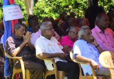 Sanctuary House hosted 240 representatives of Senior Citizens' Societies